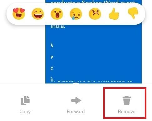 Delete specific Messenger Chat