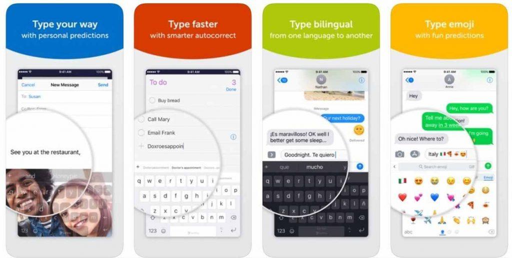 Swiftkey keyboard for iphone