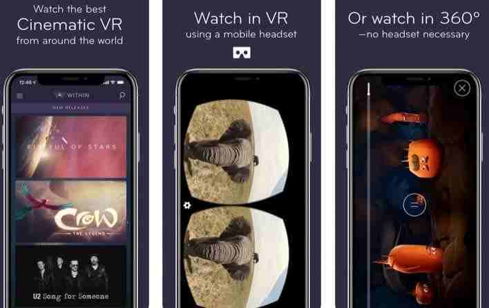 Within VR for iPhone