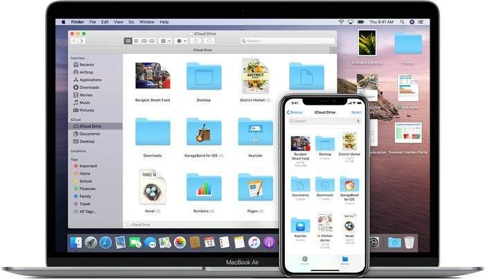 Access iCloud photos on Mac