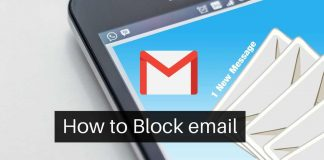 Block Mails on Gmail