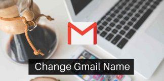 Change Gmail Name