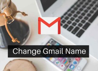 Change Gmail Name