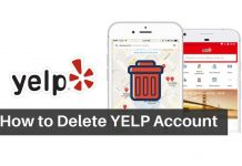 Delete-your-yelp-account