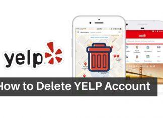 Delete-your-yelp-account