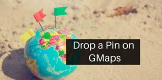 Drop a pin on GMaps