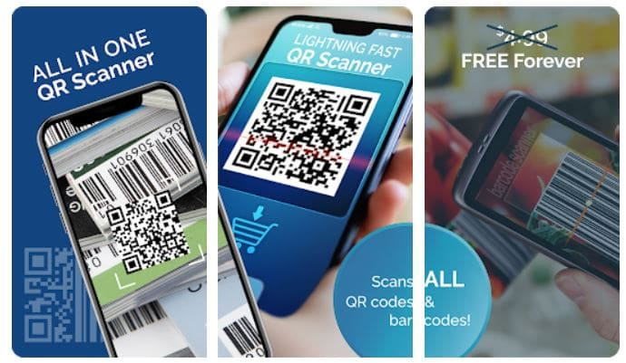 Free QR Barcode scanner
