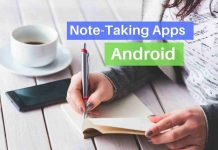 Note-taking apps for Android