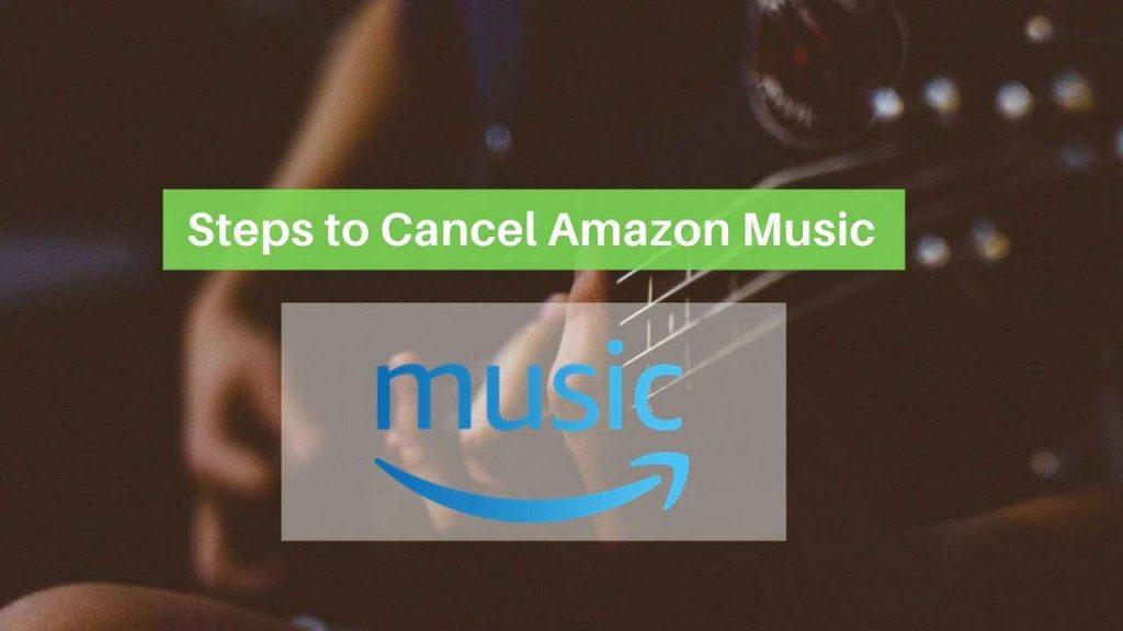 Cancel Amazon Music