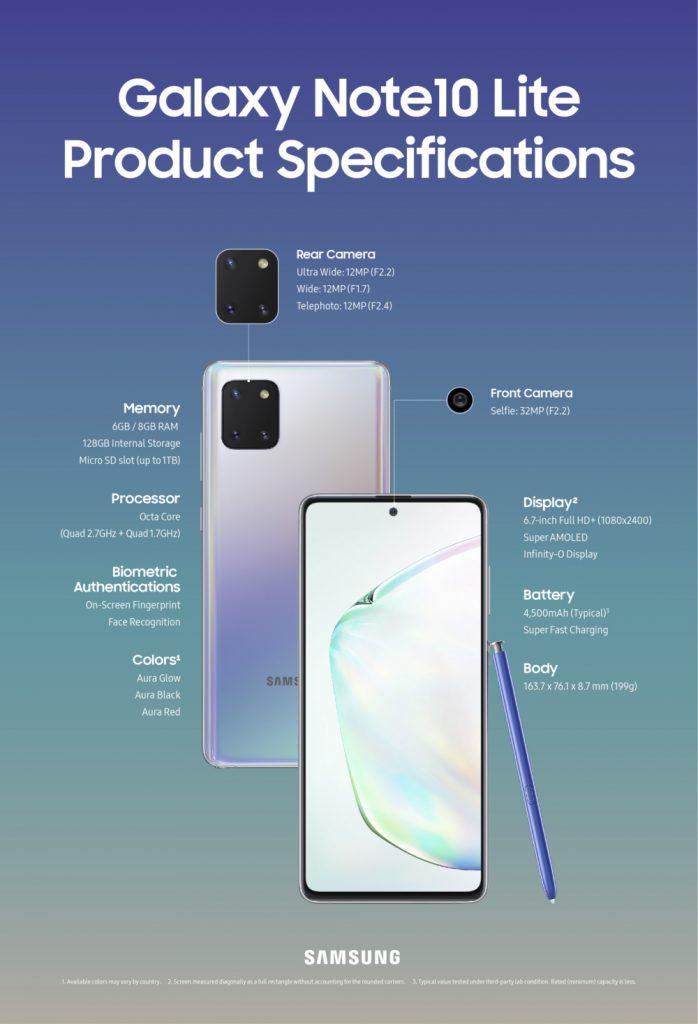 Galaxy-Note10-Lite-specs