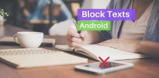 How to Block texts on Android