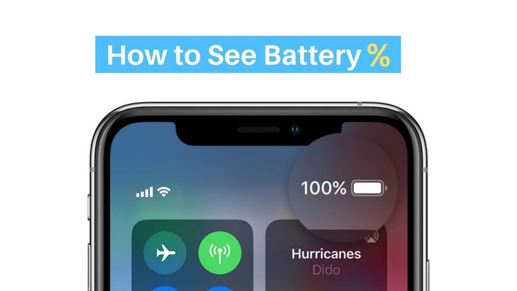 How to Show Battery Percentage on iPhone 11, X, 8, and 7