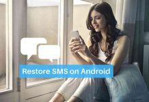 Restore SMS on Android Phones