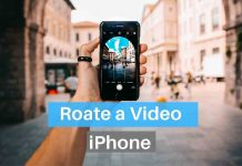 How to Rotate a Video on iPhone 7, 8, X, 11