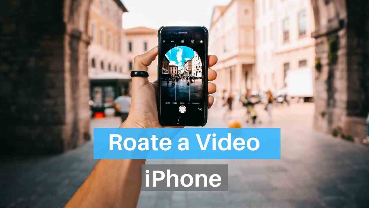 How to Rotate a Video on iPhone 11, X, 8, 7, 6 - Waftr.com