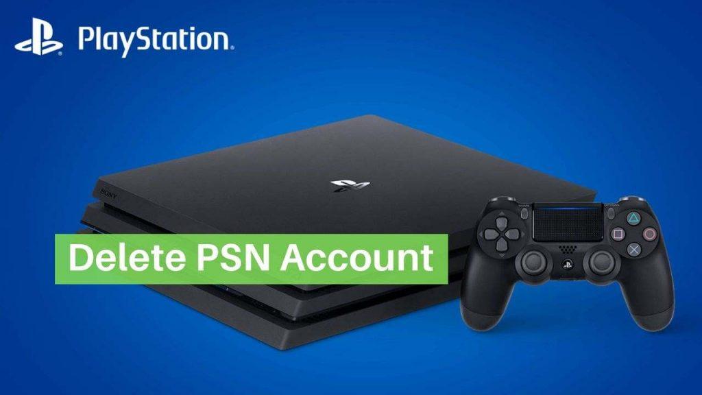 Delete PSN Account