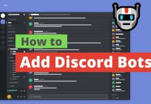 Add Discord Bots