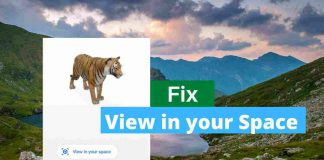 Fix - View in your space