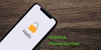 How to unblock phone number on iPhone
