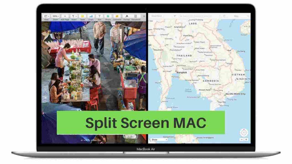 How to Split Mac Screen into 2 [Split view Mode]