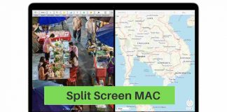 Split Screen MAC