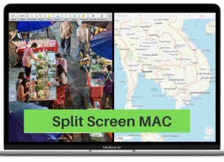Split Screen MAC