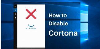 Steps to disable cortana (1)