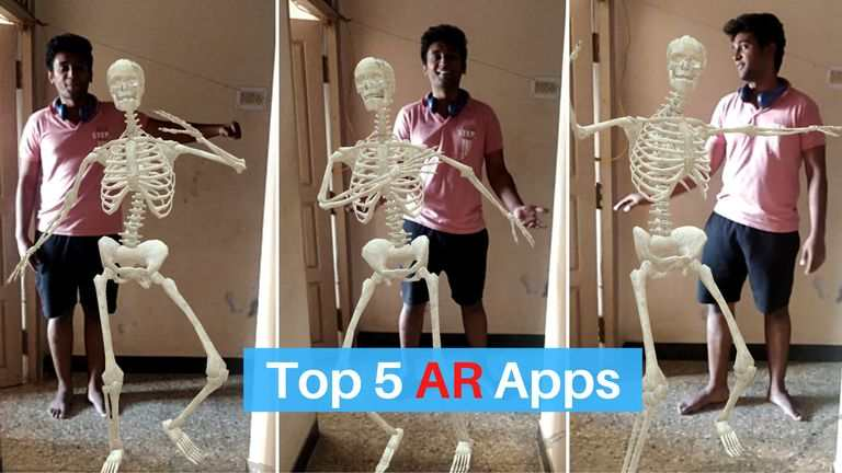 Top 5 AR (Augmented Reality) Apps for Android 2020