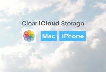 clear iCloud storage