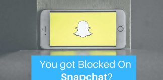 find Block Snapchat