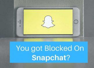 find Block Snapchat