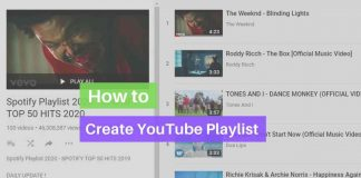 how to create Youtube playlist (1)