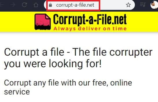 How to Corrupt Word, Excel and PDF Files Online