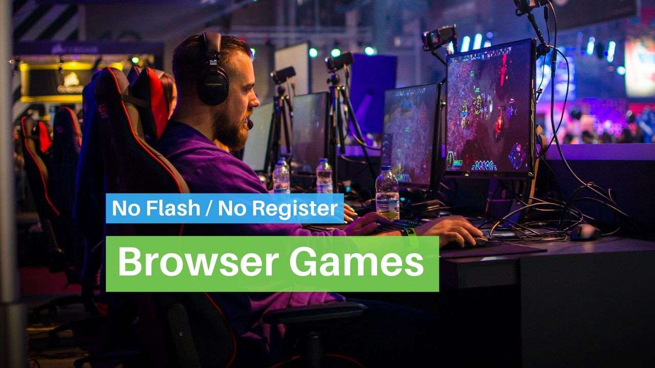 Best 20 Browser Games [No Flash & No Signup] - Waftr.com