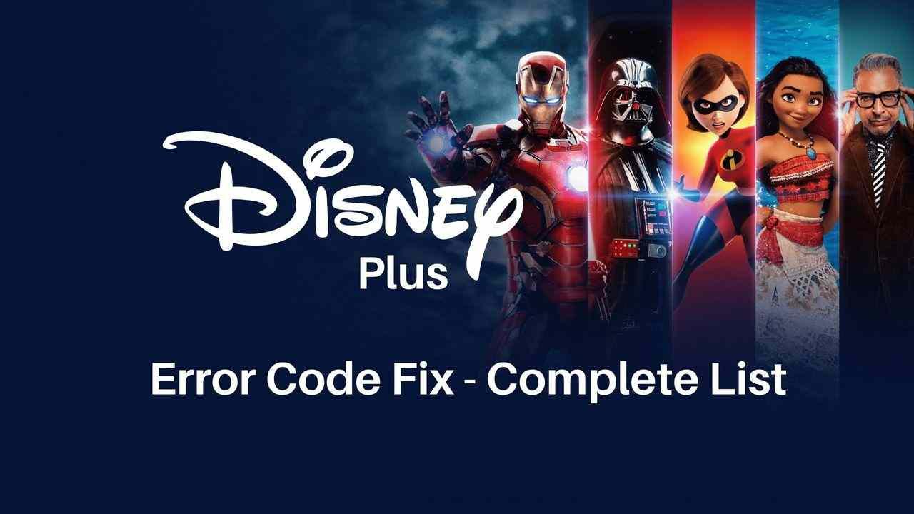 Fix - Disney Plus Error codes 83, 39, 73, 41 and Solutions ...